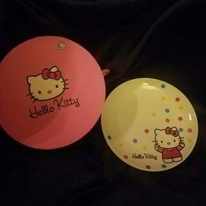 Hello kitty plates (4pc)